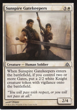Magic The Gathering Sunspire Gatekeepers Card #9/156 - $0.99