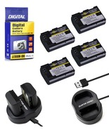 2000mAh Quantum Energy LP-E6 Battery + Dual Charger for Canon DSLR Cameras - $8.99+
