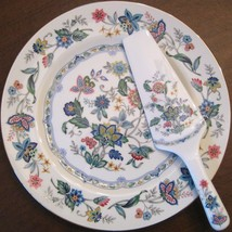 Pretty Blue Floral Cake Plate and Serving Spatula Andrea by Sadek - $16.99 & Andrea By Sadek Plate: 26 listings