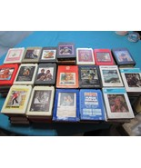 Lot of 90+ 8-Track Tapes Country Donna Summer, Alvin & Chipmunks, Pop More - $94.10
