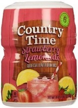 Country Time Strawberry Lemonade Drink Mix - $13.45