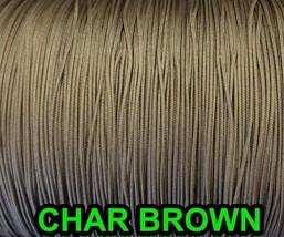 40 FEET: 0.9 MM, CHAR BROWN Professional Grade Nylon Lift Cord For Windo... - $14.84