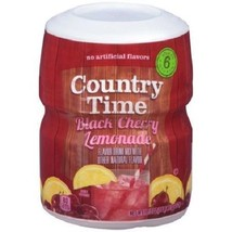 Country Time Black Cherry Lemonade Drink Mix - $13.45