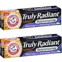 Arm & Hammer Truly Radiant Rejuvenating Fresh Mint Twist Toothpaste 2 Pack - $13.71