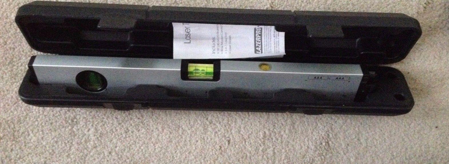 LazerPro Laser Tool Level Kit w/ Carrying Case 3-in-1 Laser Tool Laser Level 16