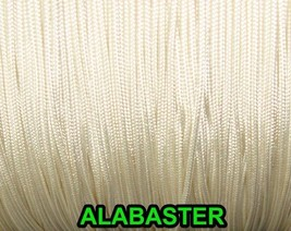 50 FEET: 0.9 MM, ALBASTER Professional Grade Nylon Lift Cord For Window ... - $15.34