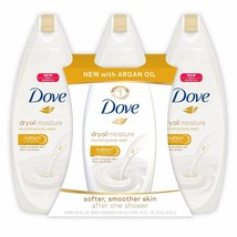3 pk Dove Dry Oil Moisture Body Wash, 3 ct./24 oz. - $22.98