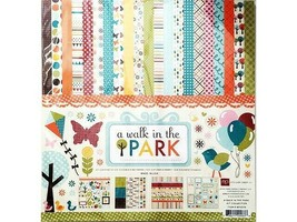 Echo Park A Walk in the Park Scrapbook Collection Kit #WP2016 image 1