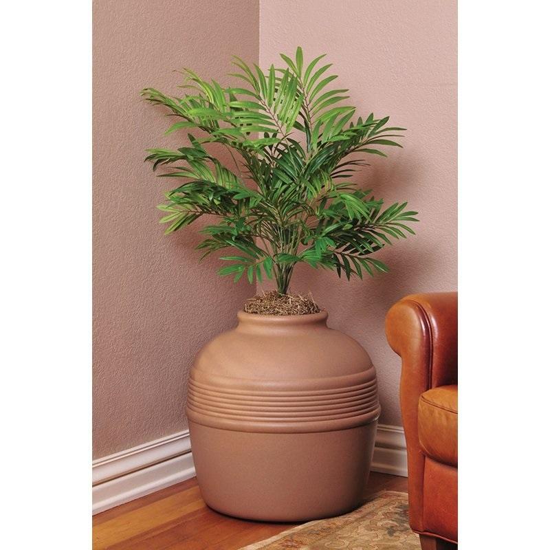 Decorative Litter Box: Cat Kitty Litter Box Decorative Palm Planter Pot Plastic