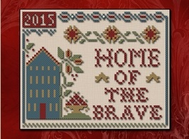 Home of the Brave Threadpack with floss (4 skeins) Classic Colorworks LHN - $13.00