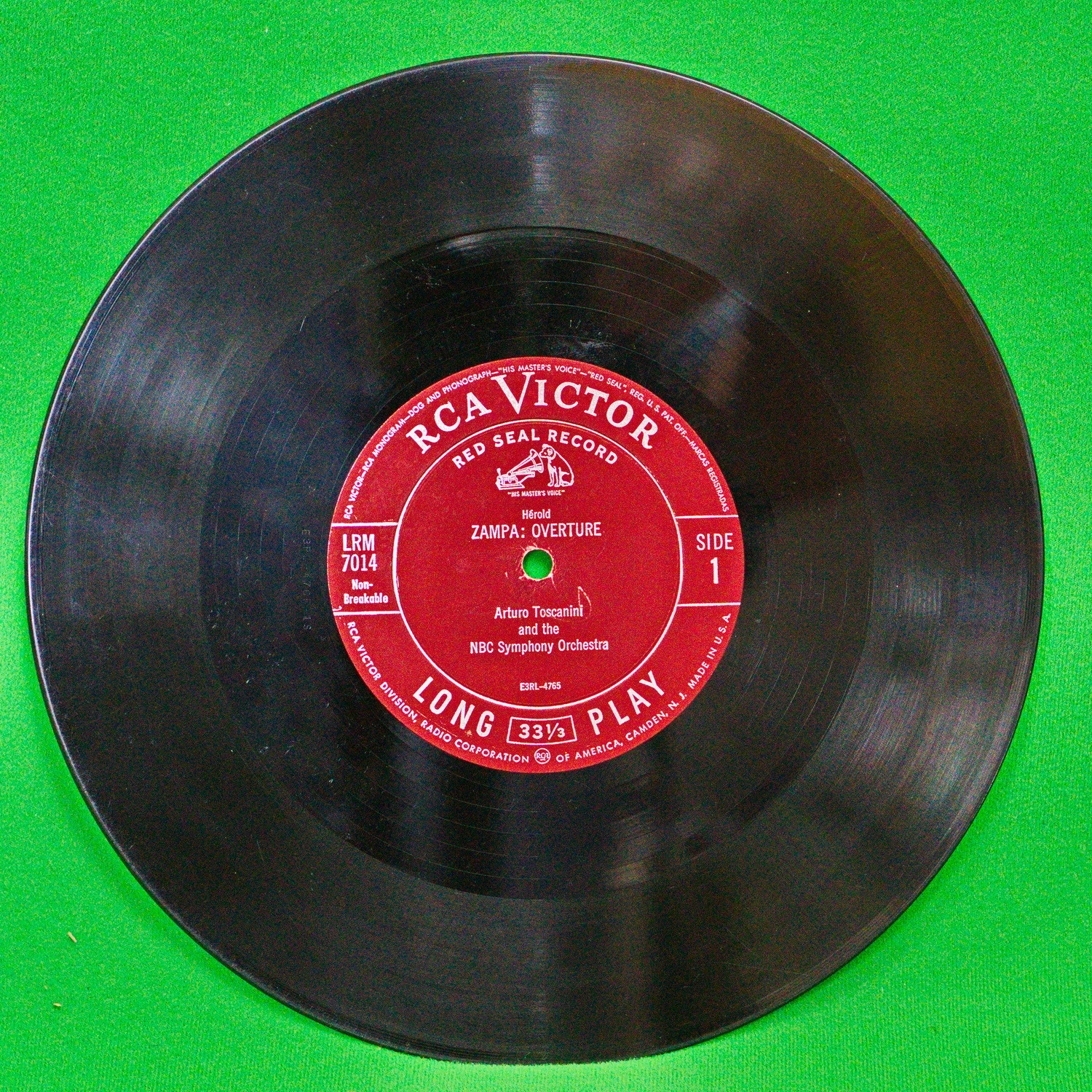 Vintage 1950 S 10 Quot Vinyl Record Toscanini Conducts Rca