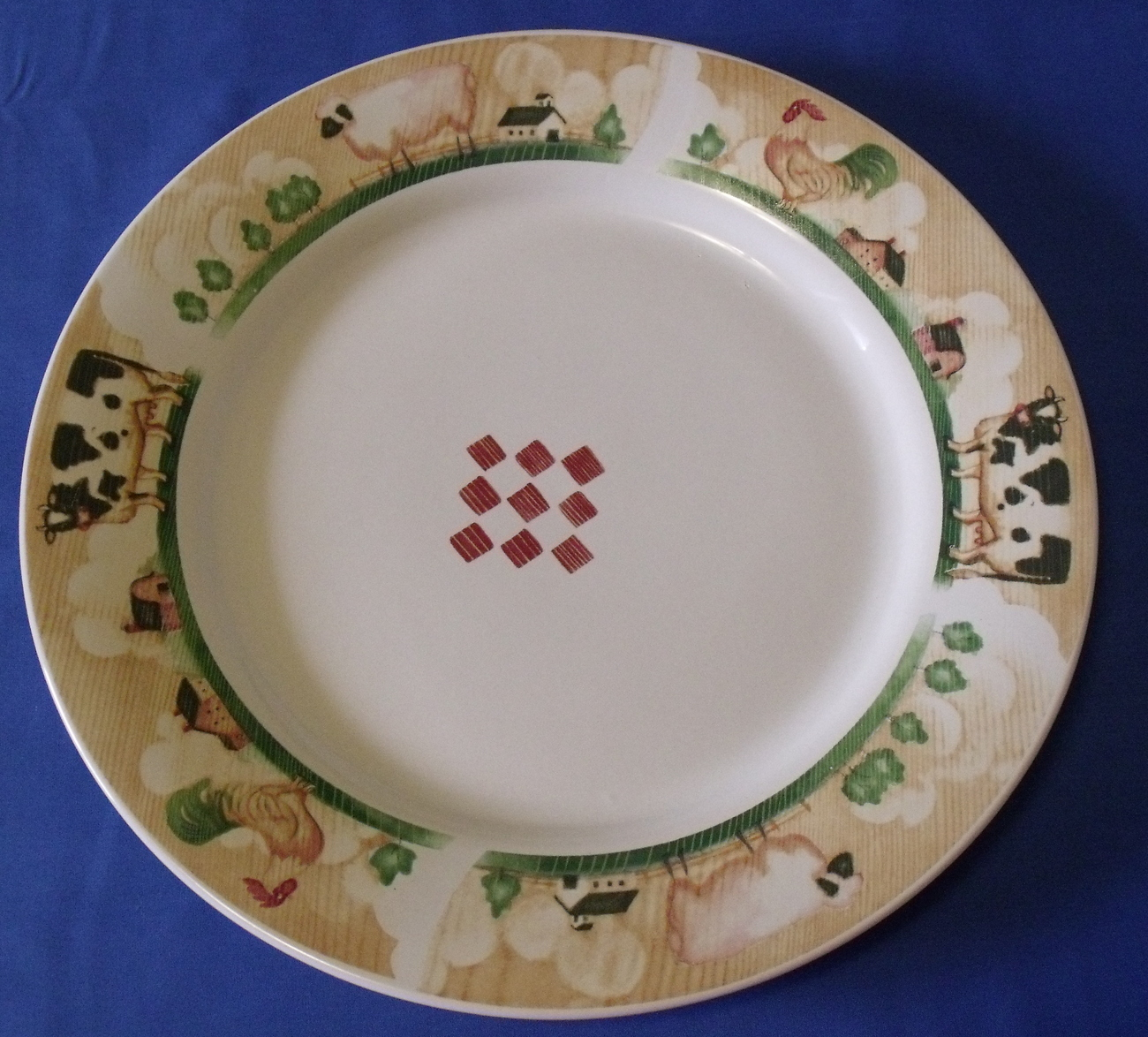 Gibson country serving platter top