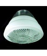 "Art Deco Glass Utility Light Shade 4"" Flush Mou... - $19.95"