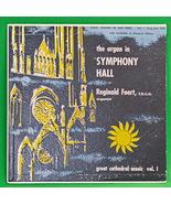 "Vintage 1950's 10"" Vinyl Record - Reginald Foort (Organ), Cook Records L... - $4.95"