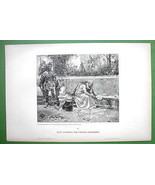 ARCHIMEDES Circles Death Roman Soldier - VICTORIAN Original Engraving - $29.65