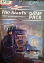Giants Game Pack: Hotel Giant, Traffic Giant & Transport Giant [video game] - $9.95