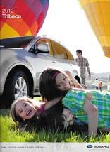 2012 Subaru TRIBECA sales brochure catalog 12 US 3.6R Limited Touring - $8.00