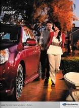 2012 Subaru LEGACY sales brochure catalog US 12 2.5i GT 3.6R Limited - $8.00