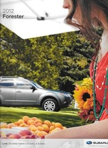 2012 Subaru FORESTER brochure catalog US 12 2.5 X XT Limited Touring - $6.00