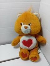 "Tenderheart 2002 Care Bears Beanie Plush 8"" Tall Hearts Stuffed Bear Pre... - $12.86"