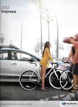 2012 Subaru IMPREZA brochure catalog 1st Edition US 2.0i Sport Limited - $6.00