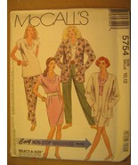 UNCUT Sewing Pattern 1991 McCALL'S Size 10,12,20,22 Pant SKIRT 5754 [Z180] - $4.51
