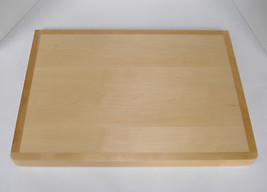 "Kitchen Over-the-Edge Counter Maple Cutting Board Shelf 23"" x 16"" x 1-1/2"" - $116.80"