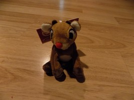 Hallmark 2014 50 Years Plush Rudolph the Red Nosed Reindeer Christmas Or... - $15.00