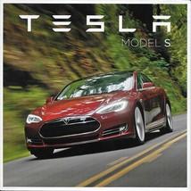2012/2013 TESLA MODEL S intro sales brochure catalog folder Electric - $10.00