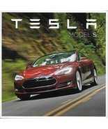 2012/2013 TESLA MODEL S intro sales brochure catalog folder Electric - $8.00