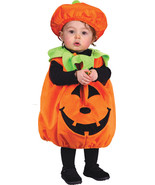 Toddler pumpkin pie 1 piece pullover romper jumpsuit hat halloween costume c242 thumbtall