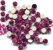 Hologram Spangles Hot Fix  Rose  Iron On  5mm 1 Gross - $4.49