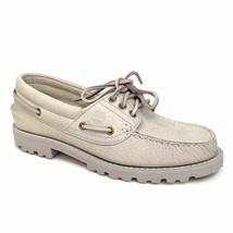 Timberland Women's Noreen Lite Handswen Light Purple 3 Eye Boat Shoes A1... - $59.99
