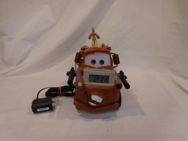Disney Pixar Cars Tow Mater Truck Alarm Clock Night Light and Storyteller - $62.41