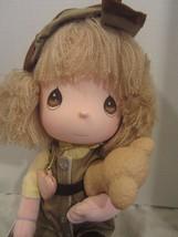 """Precious Moments AUSTRULIA Doll the worlds children ASHLEY W/KOALA  13"""" - $31.68"""