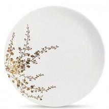 Wedgwood Vera Jardin Gold Leaf Design Dinner Plate - $39.60