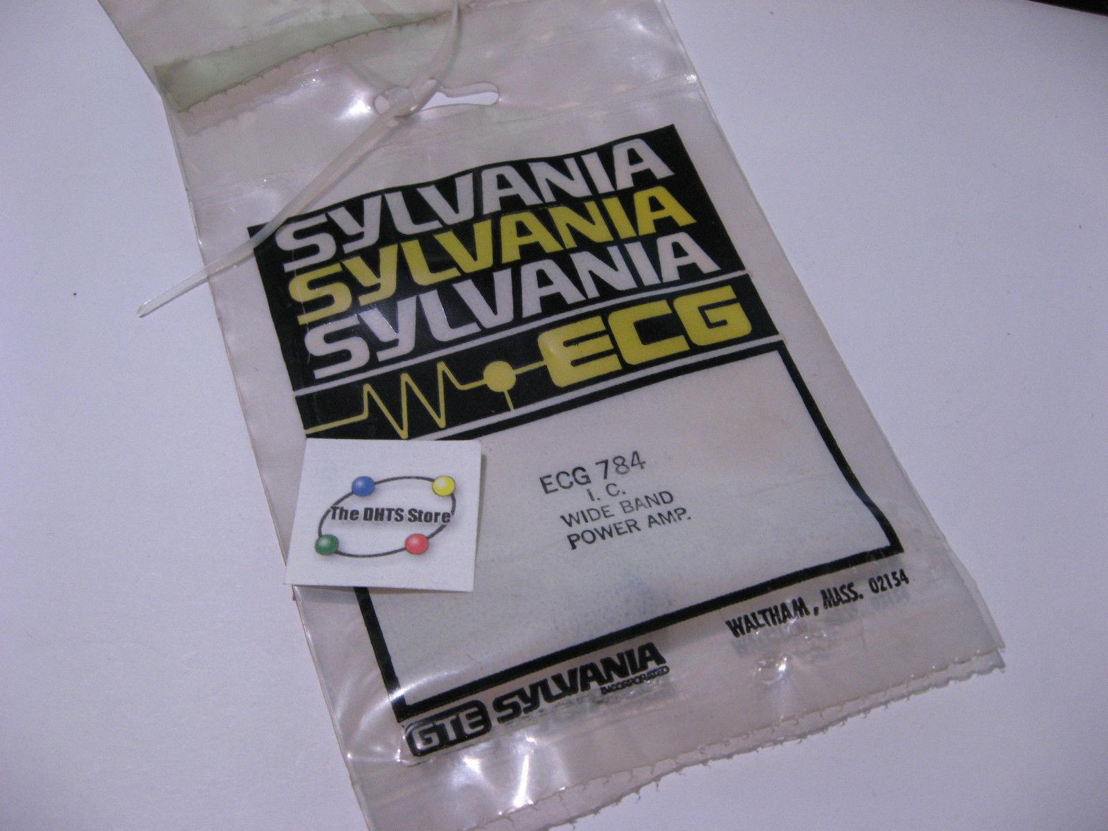 Sylvania Ecg784 Ic Wide Band Power Amplifier And 50 Similar Items Audio Circuit Using Ta7283ap Nos