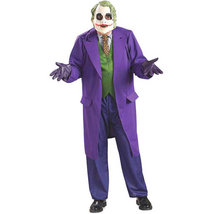 DELUXE LICENSED DARK KNIGHT JOKER ADULT COSTUME - $129.95