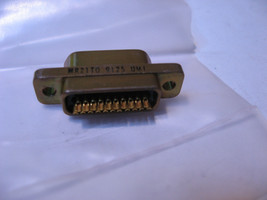 Qty 1 MR21T0 Ulti-Mate UMI Micro-D Connector 21 Pin 9125 - NOS - $20.90