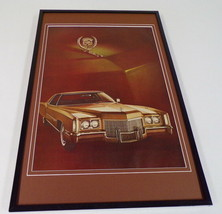 1971 Cadillac Framed 11x17 ORIGINAL Vintage Advertising Poster - $65.09