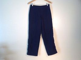 Mens NYL Size M Dark Blue Track Pants Stretchy waist Great