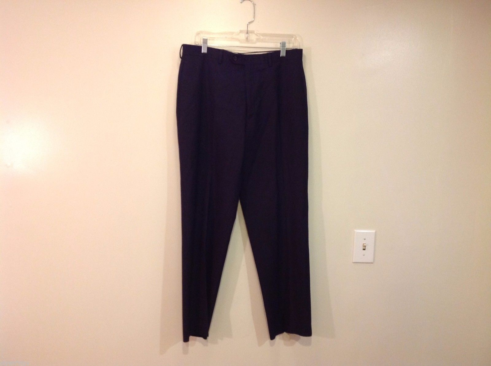 Ralph Lauren Total Comfort Black Dress Pants  40 inch pant leg size 33W/30L