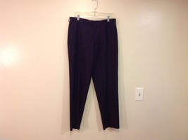 Ralph Lauren Total Comfort Black Dress Pants  40 inch pant leg size 33W/30L