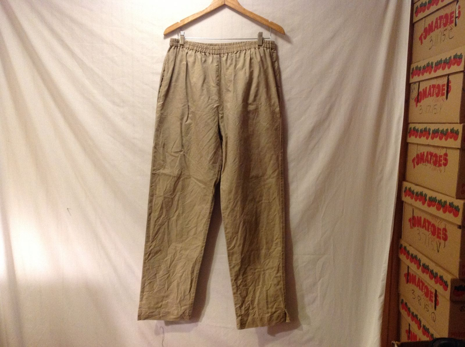 Satguru's Unisex Tan Pants Yoga Casual