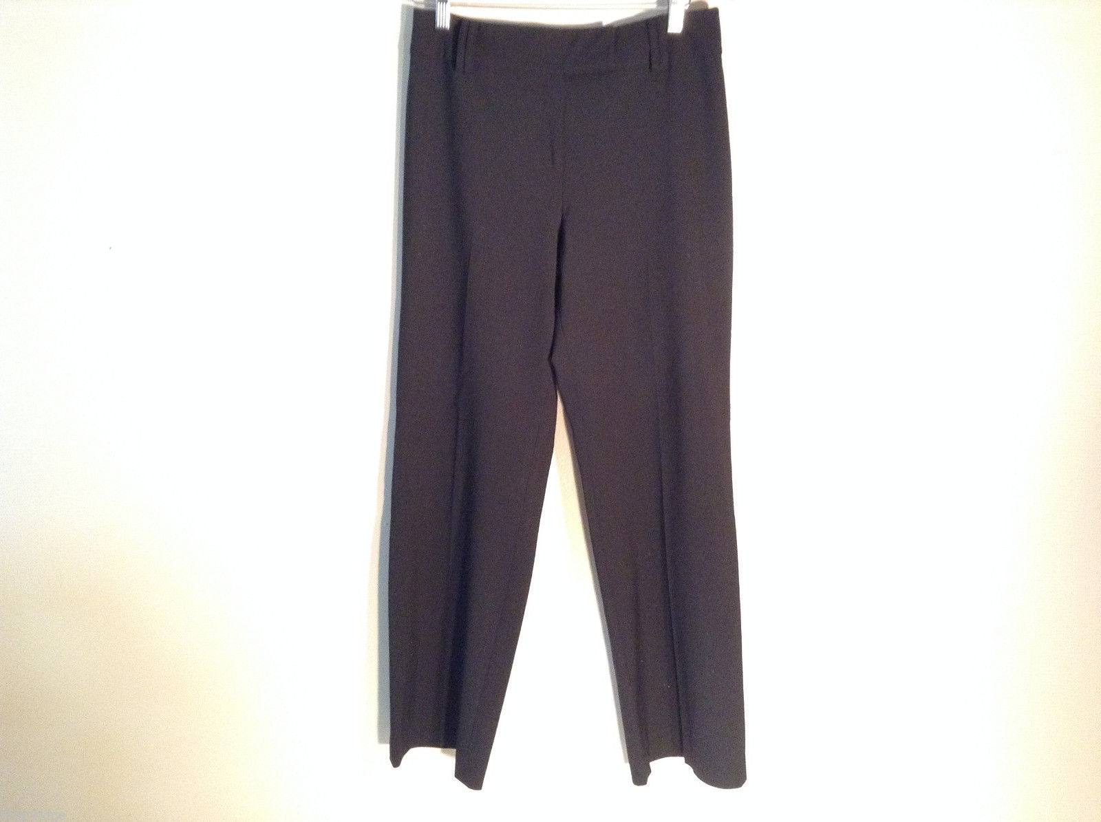 Womens Ann Taylor Loft Size 6 Black Casual Dress Pants Synthetic blend