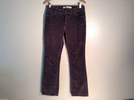 Womens GAP Boot Cut Size 10L Faded Brown Corduroy Pants/Jeans Excellent