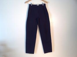 Womens L.L. Bean Size 4 Regular Black Casual/Dress Pants Excellent