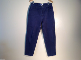 Womens Liz Claiborne Size 16 Dark Blue Denim Pants/Jeans 100% cotton great