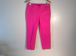 Womens Ann Taylor Hot Ppink Pants Size 4 Excellent