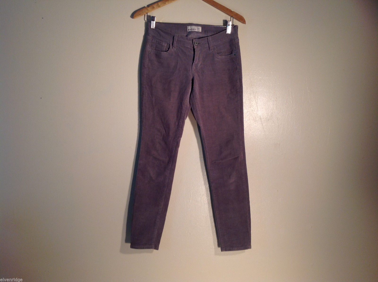 Womens Old Navy Size 6 Gray Corduroy Pants/Jeans Excellent